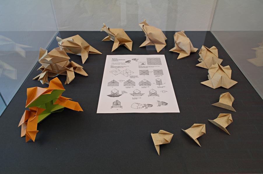 Evžen Dub: geneze žáby, celkový pohled