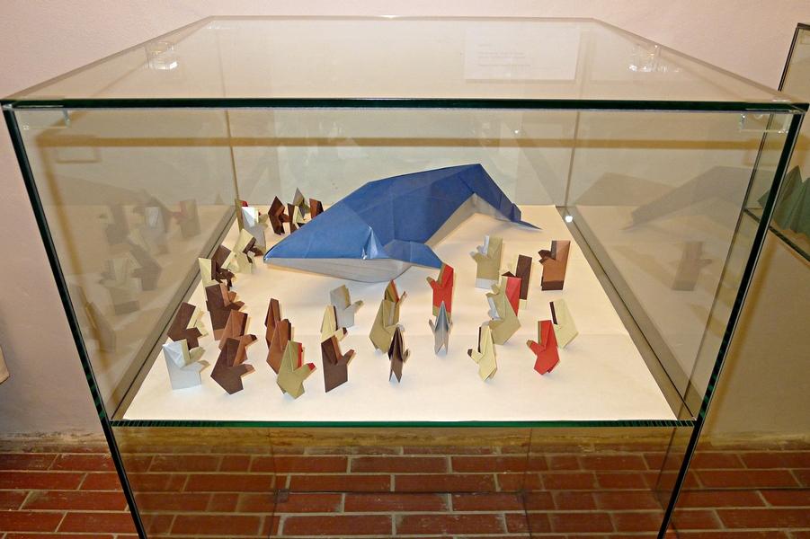 Evžen Dub: Velrybolov, celkový pohled