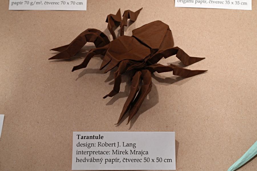 Robert Lang: tarantule