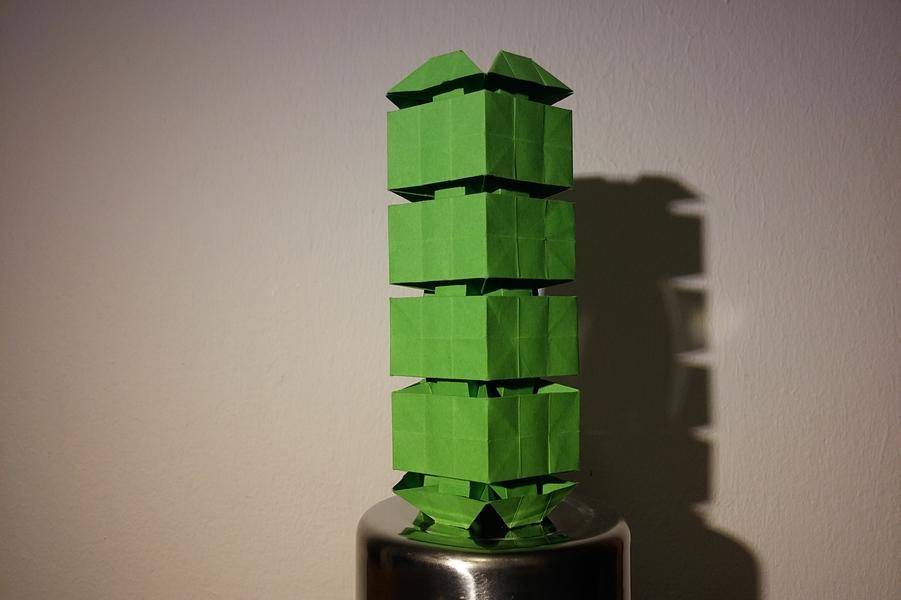 Ondřej Cibulka: kubistický kandelábr naruby